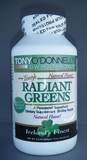 Radiant Greens Natural: Organic Superfood by Tony O'Donnell