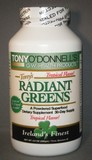 Radiant Greens Tropical: Organic Superfood by Tony O'Donnell