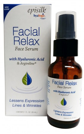 Episilk FRS Hyaluronic Acid Facial Relax Serum by Hyalogic Bottle Shot
