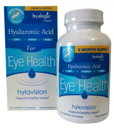 HylaVision Clear Vision Health Nutritional Support Bottle Shot