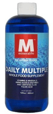 Mineralife Daily Multiple Liquid Whole Food Multivitamin