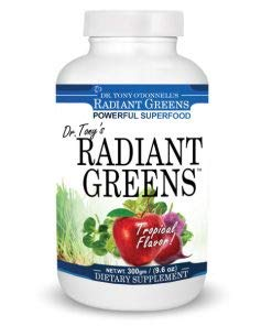 Radiant Greens Tropical: Organic Superfood by Tony O'Donnell Bottle Shot