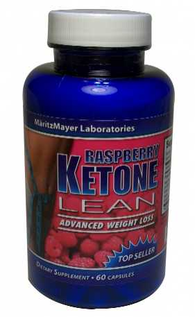 Raspberry Ketone Lean Advanced Weight Loss Supplement Bottle Shot
